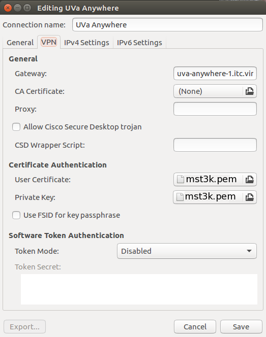 Opera browser proxy server